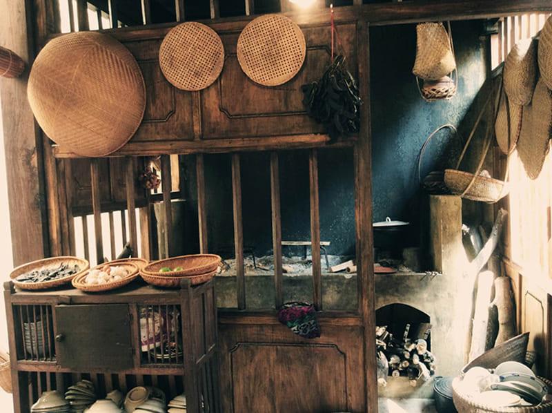 Nhà Bếp Thời Xưa
