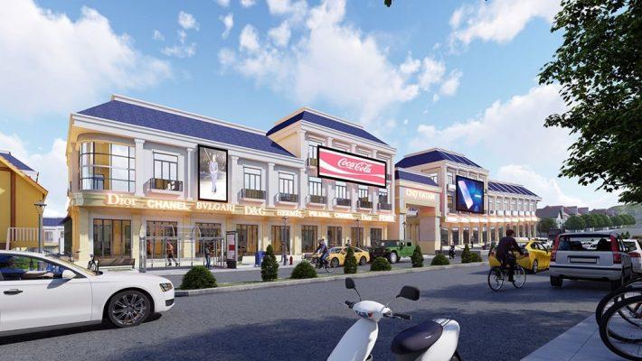 Trung tâm thương mại kết hợp chợ truyền thống