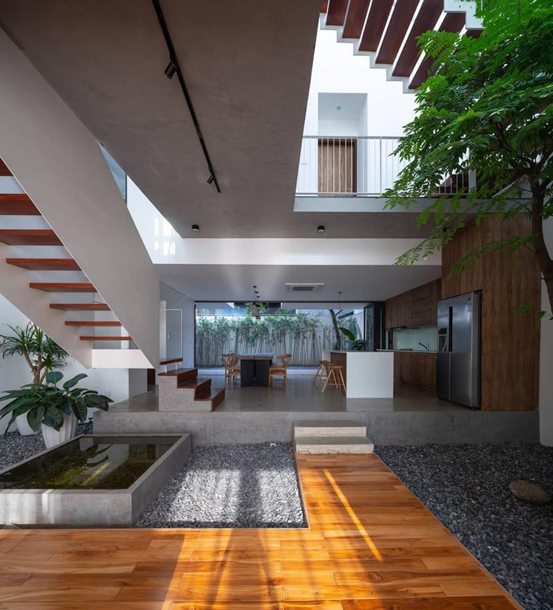 Mẫu Nhà Theo Phong Cách Trầm Đẹp