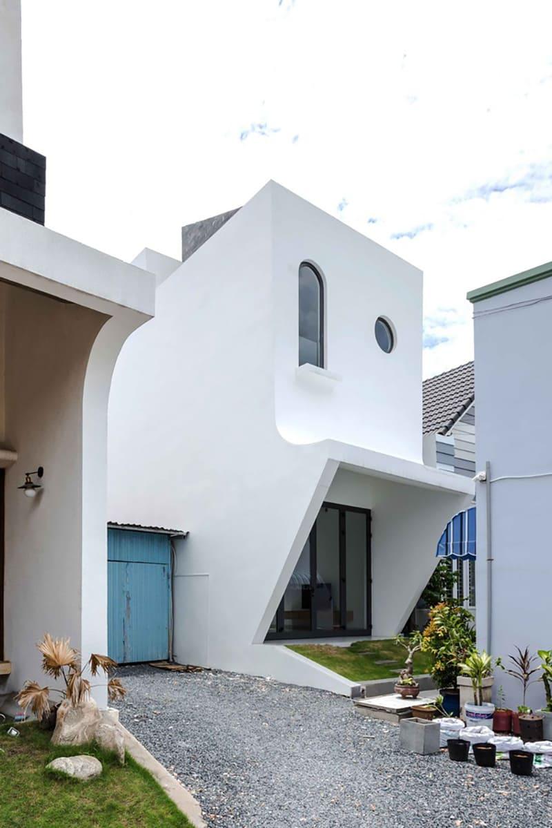 Ngôi Nhà Có Thiết Kế Lạ