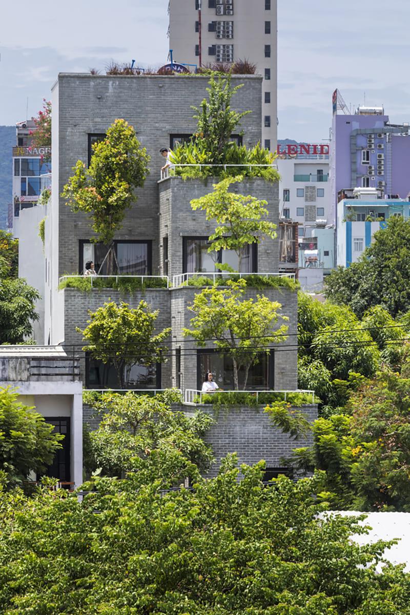 Nhà Ruộng Bậc Thang