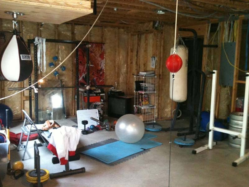 Thi Công Phòng Gym Tại Nhà
