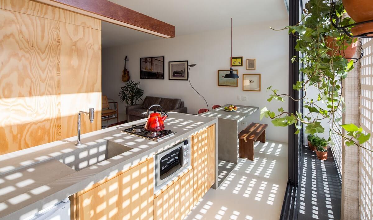 Không Gian Mở Đẹp Cho Phòng Bếp