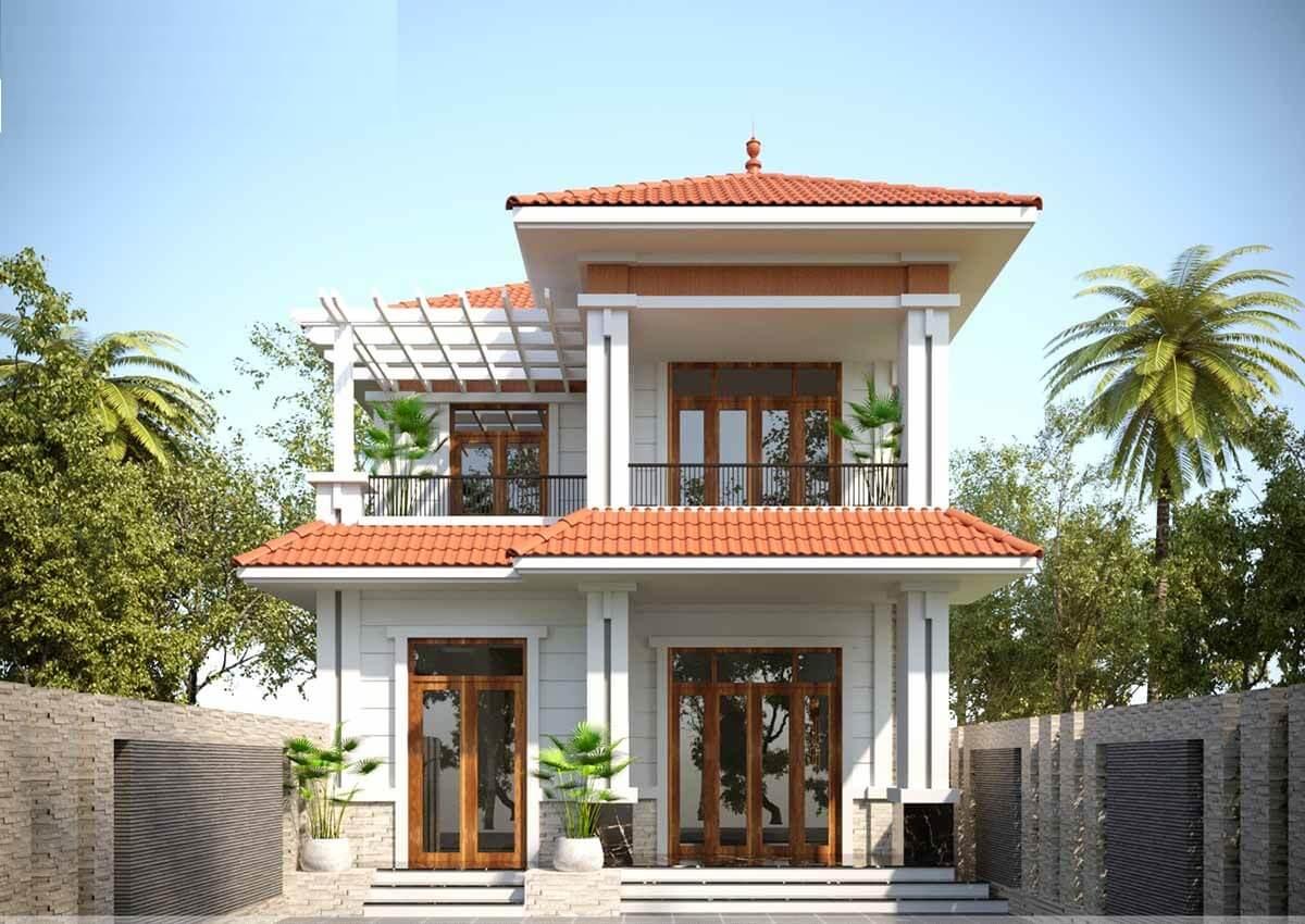 Ngôi Nhà 2 Tầng Với Đầy Đủ Công Năng