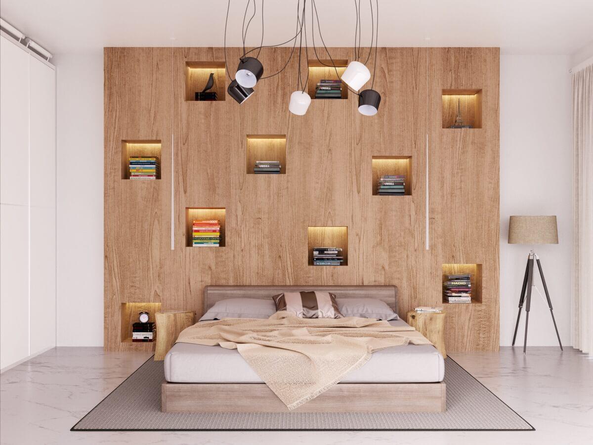 Sử Dụng Tranh Ảnh Tạo Điểm Nhấn Thú Vị Cho Nội Thất Phòng Ngủ