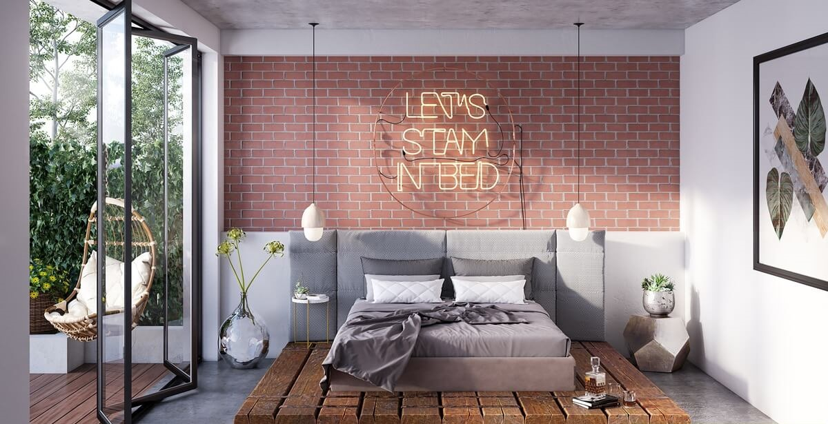 Trang Trí Bức Tường Đầu Giường Ngủ Để Tạo Sự Hấp Dẫn Cho Không Gian