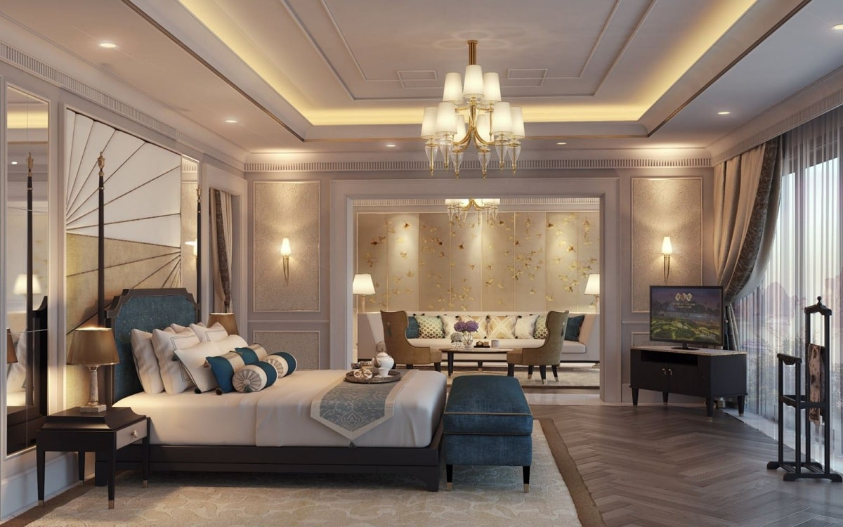 Màu Sắc Nội Thất Phòng Ngủ Khách Sạn