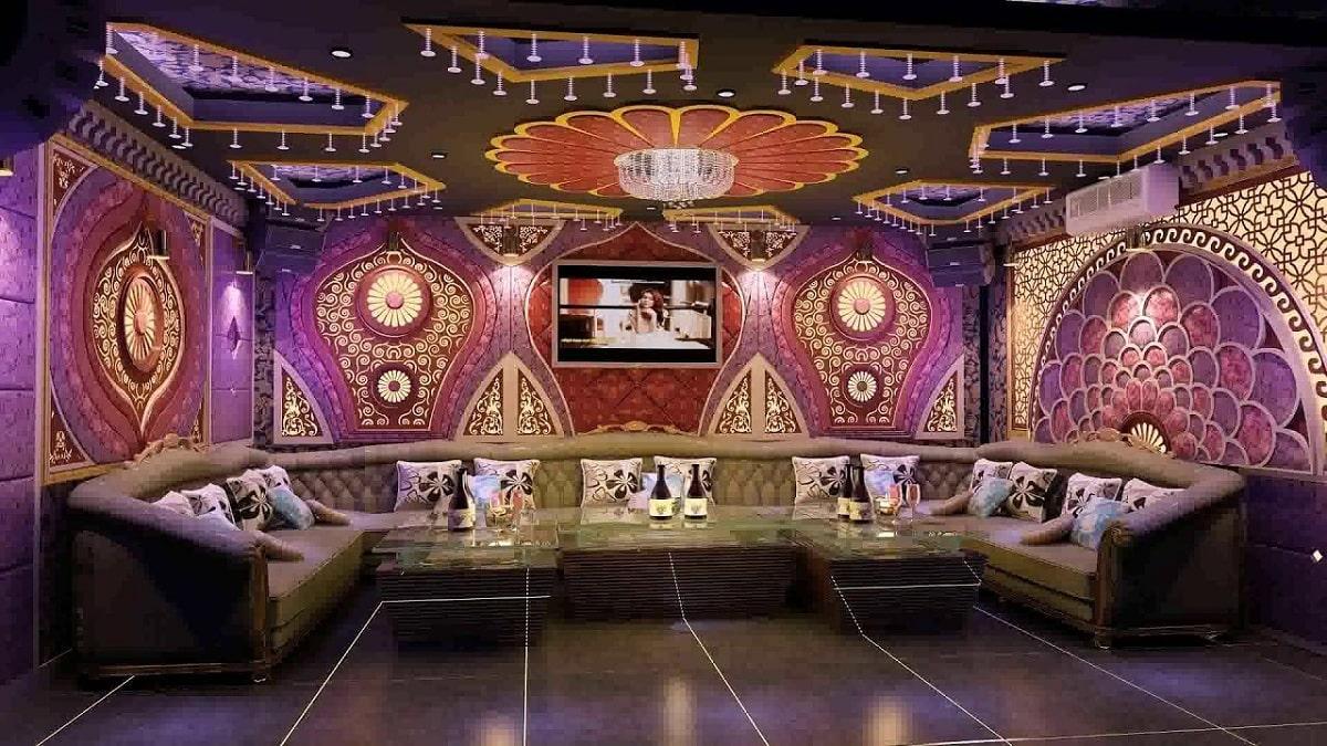 Nội Thất Phòng Karaoke Theo Phong Cách Bar
