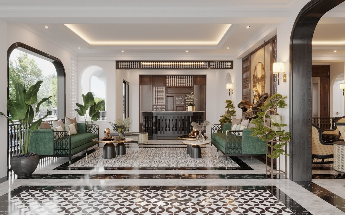 Phong Cách Thiết Kế Nội Thất Khách Sạn Indochine