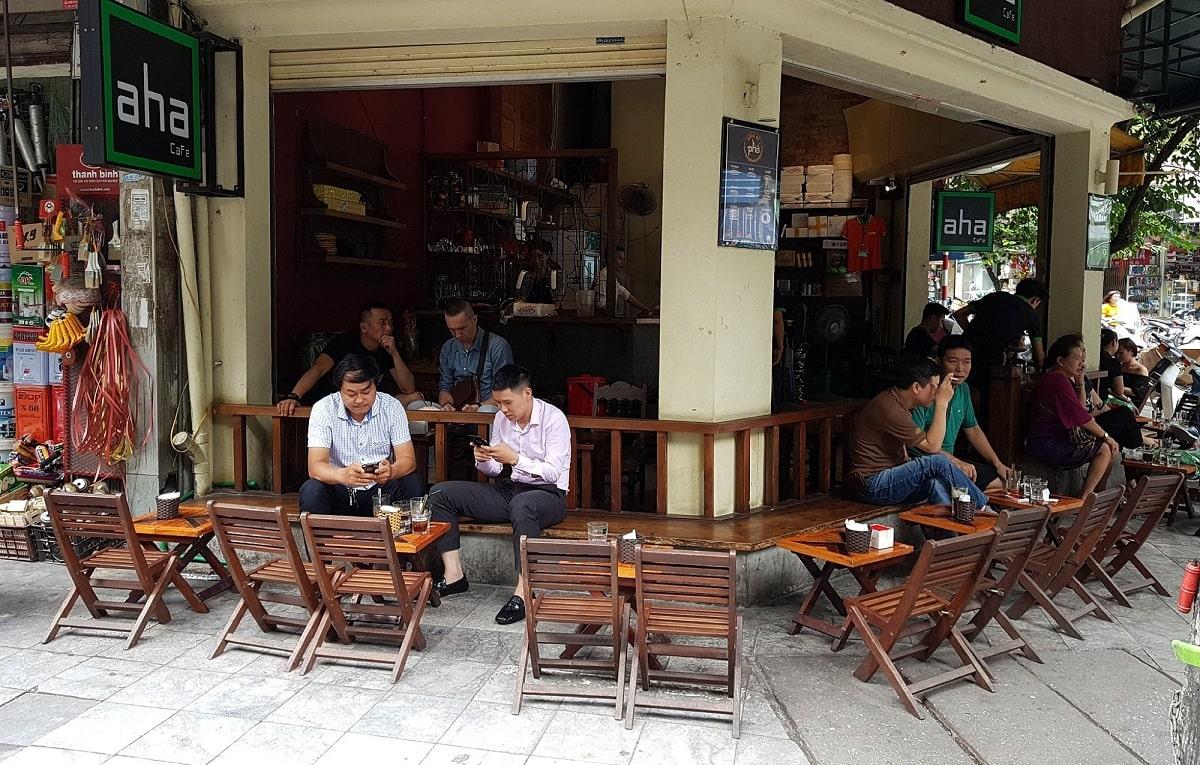 Quán Cafe Bệt Vỉa Hè