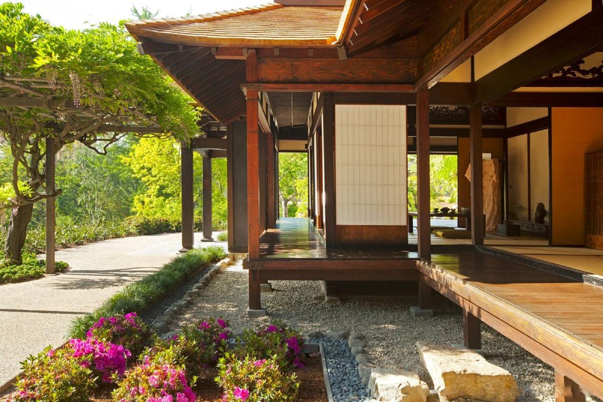 Thiết Kế Biệt Thự 1 Tầng Theo Phong Cách Nhật Bản