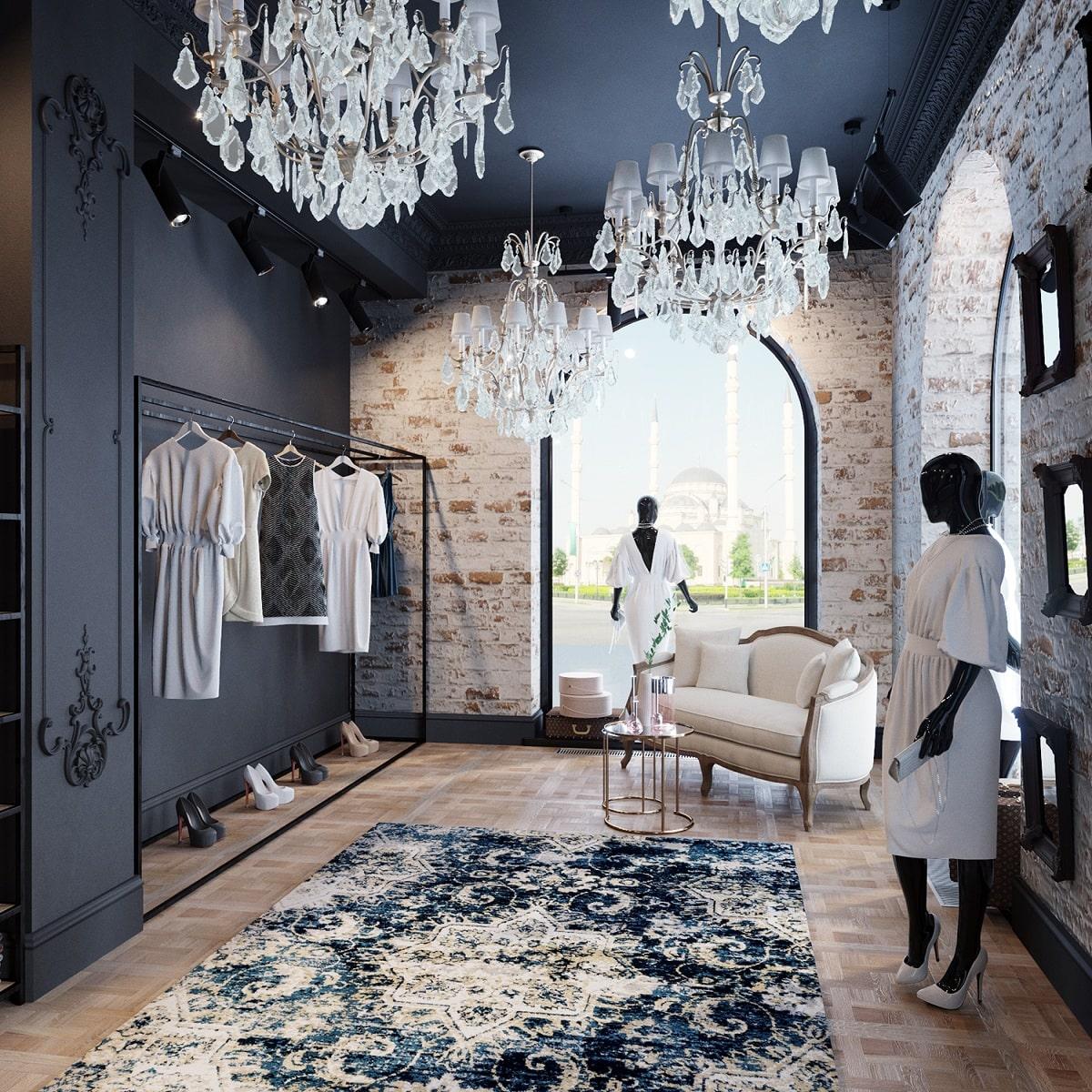 Thiết Kế Nội Thất Showroom Đẹp, Phong Cách