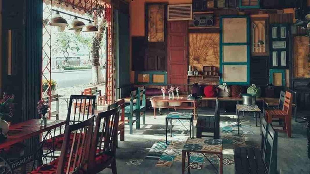 Thiết Kế Quán Cafe Theo Xu Hướng Hoài Cổ - Vintage