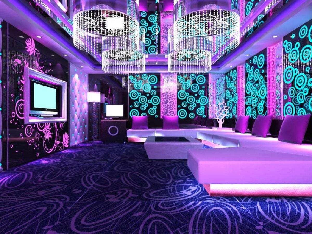 Thiết Kế Thi Công Nội Thất Phòng Karaoke Lung Linh