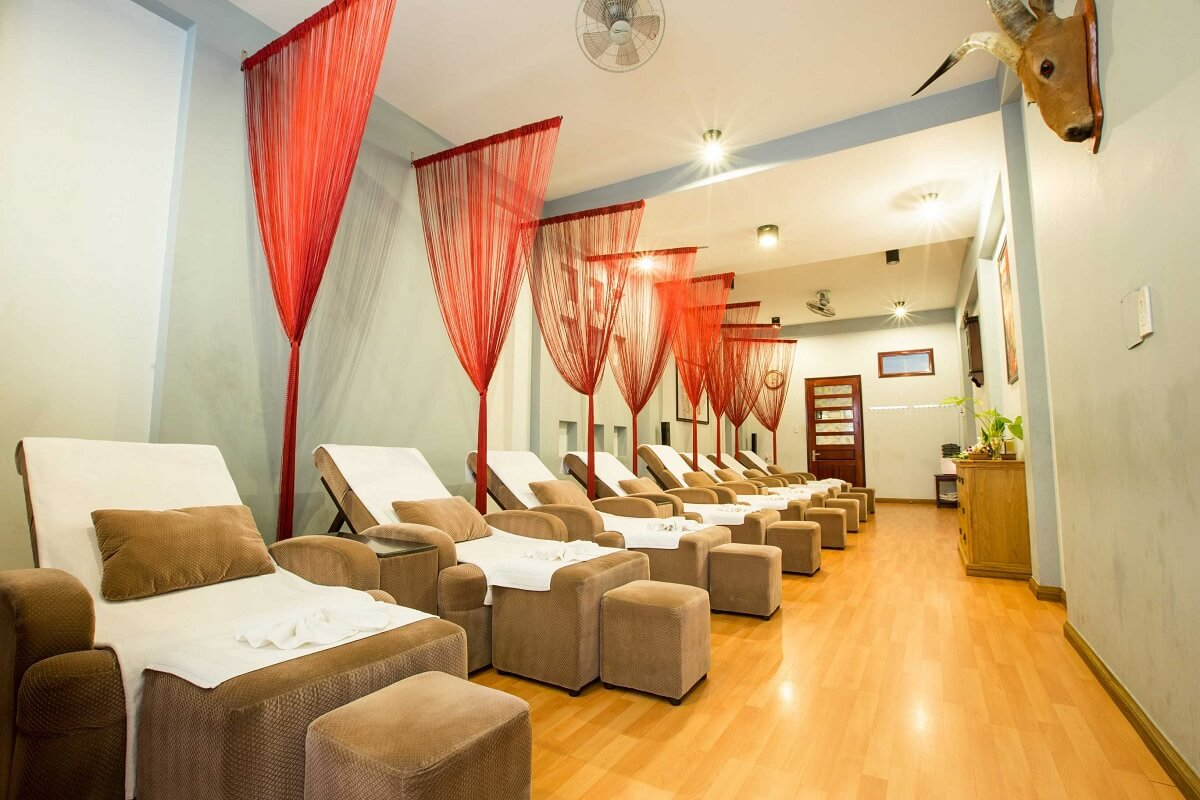 Ghế Foot Massage Trong Spa