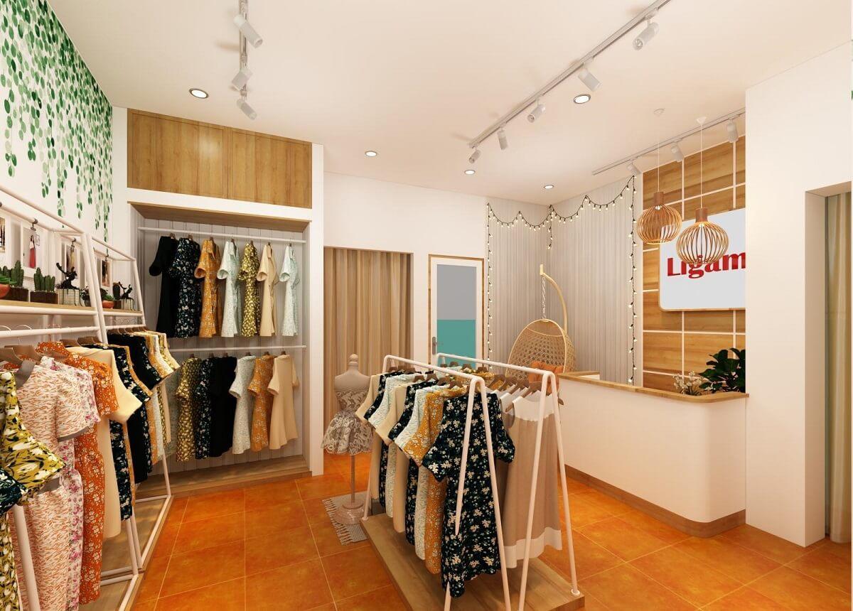 Lựa Chọn Phong Cách Decor Shop Thời Trang