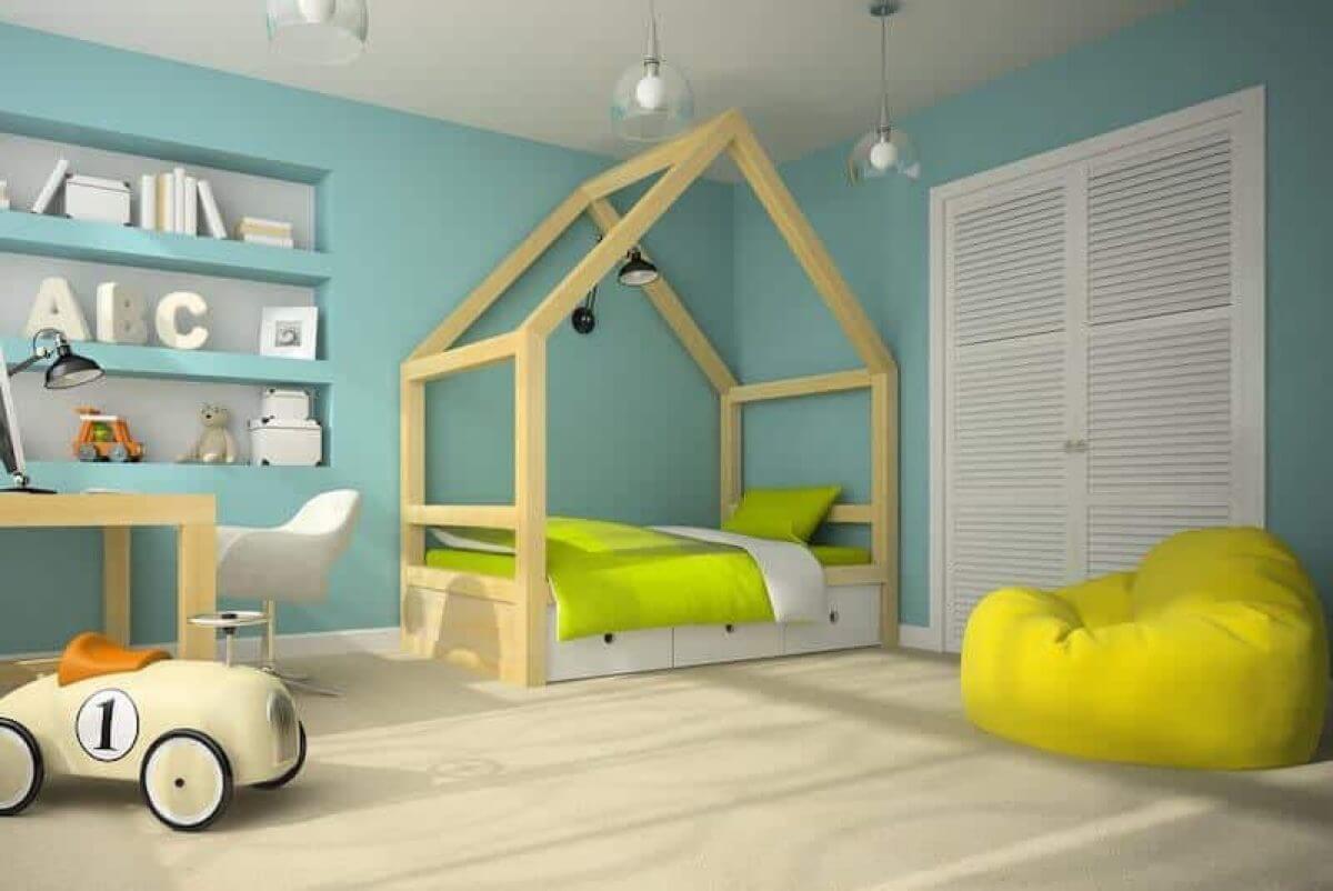 Ý Về Độ Tuổi Khi Thiết Kế Nội Thất Phòng Ngủ Cho Trẻ Em