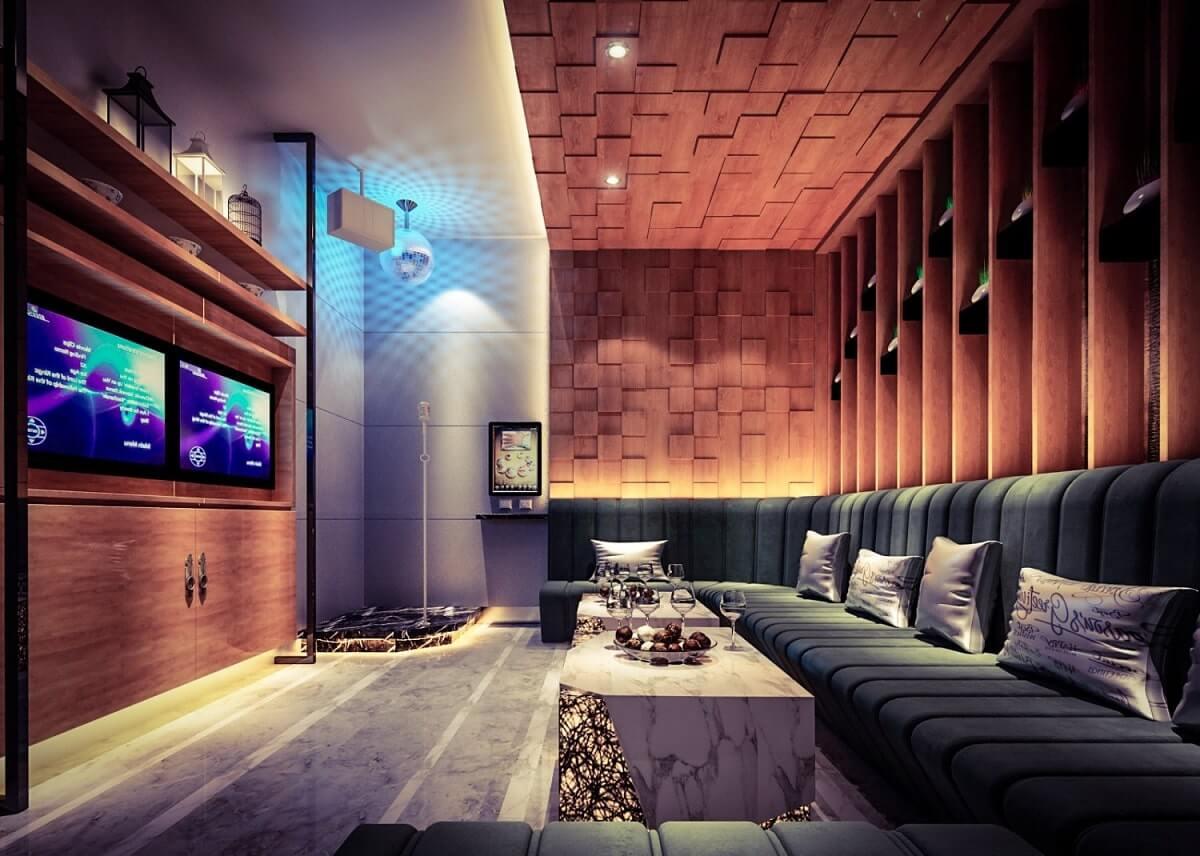Mẫu Phòng Karaoke Cho Gia Đình