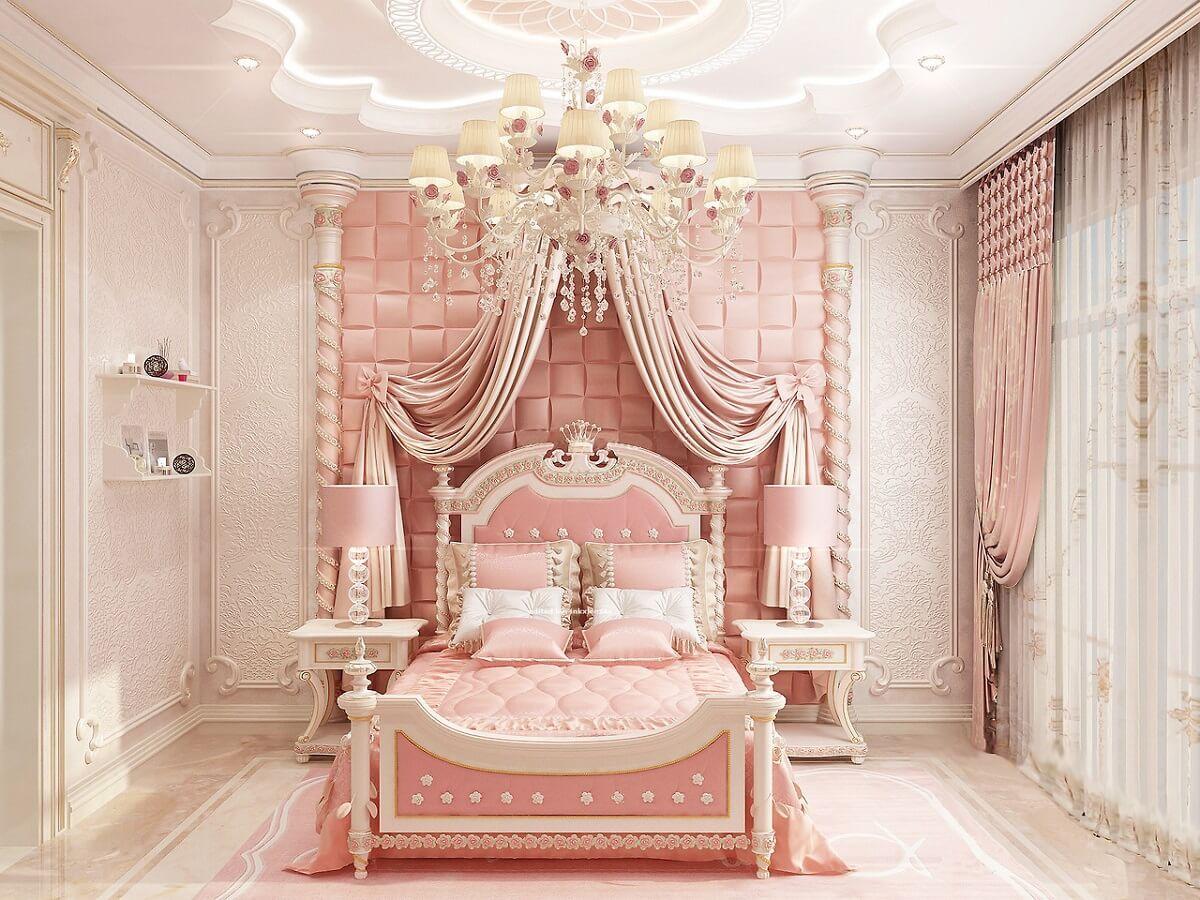 Mẫu Phòng Ngủ Dành Cho Bé Gái