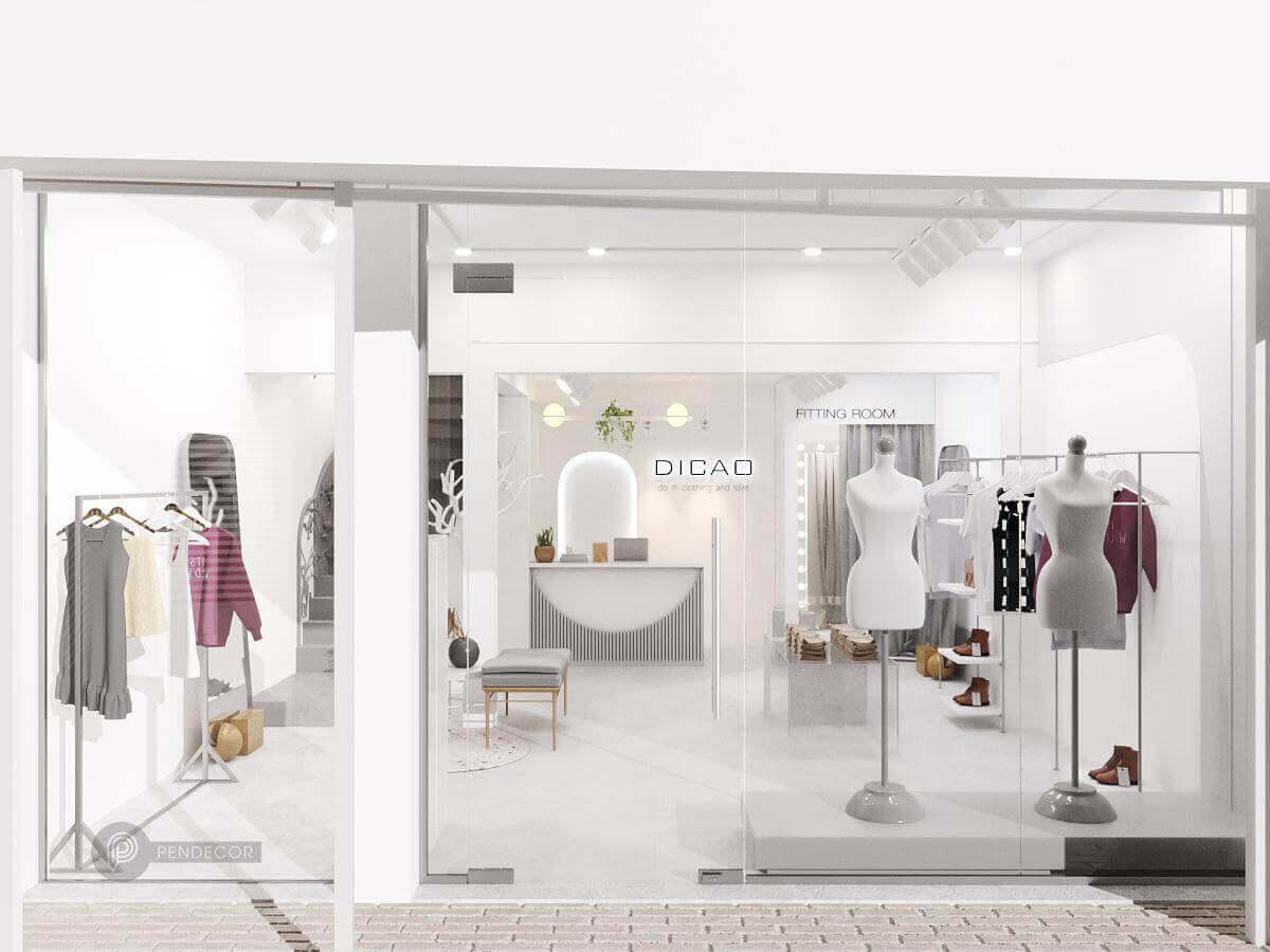 Những Tiêu Chuẩn Của Thiết Kế Shop Quần Áo Nữ