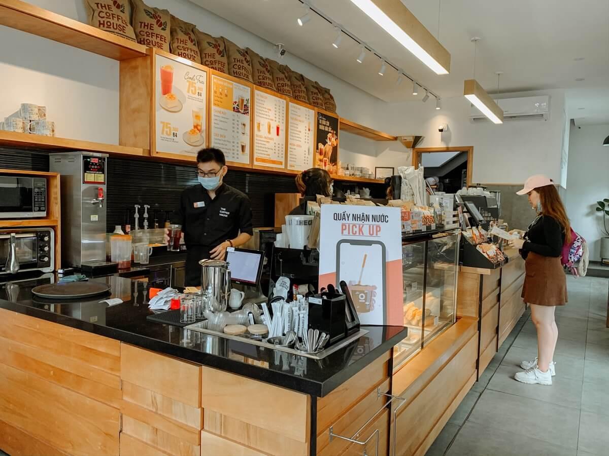 Nội Thất Cafe Quầy Bartender
