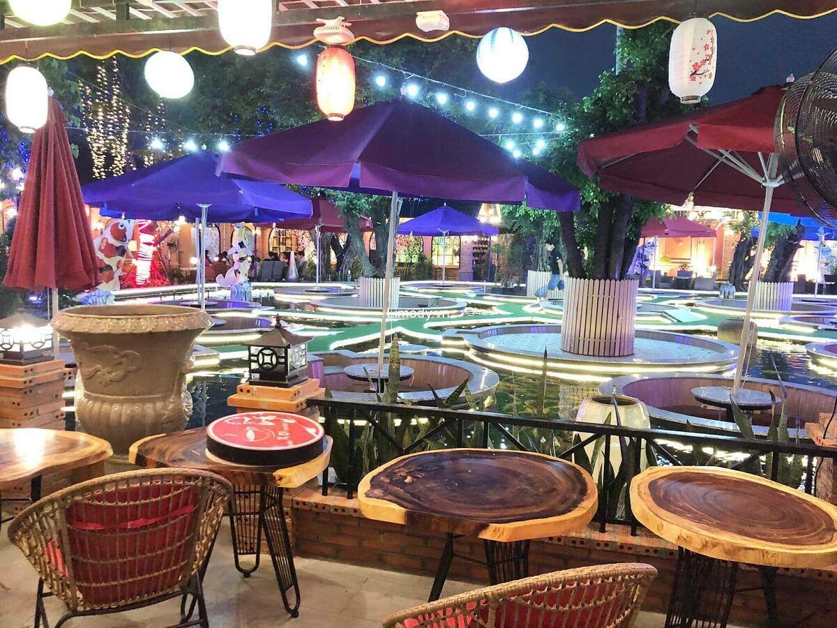 Phong Cách Cafe Sân Vườn Thoáng Đãng Dịu Mát