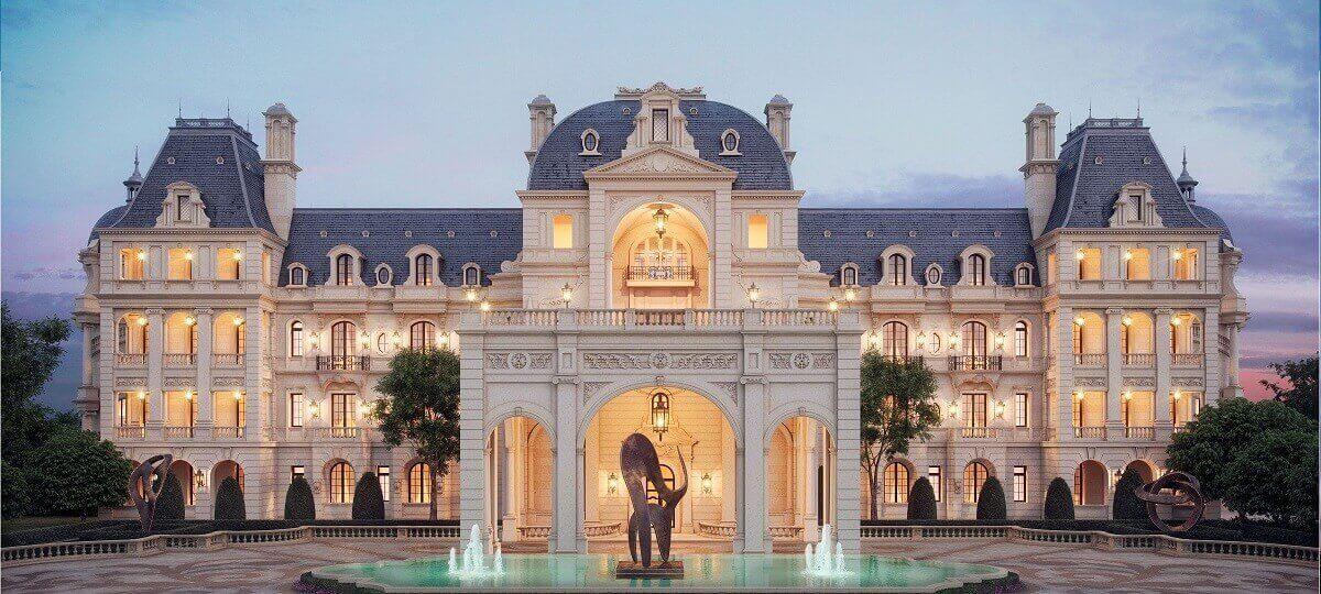Phong Cách Khách Sạn Cổ Điển Kiểu Pháp Nguy Nga Tráng Lệ