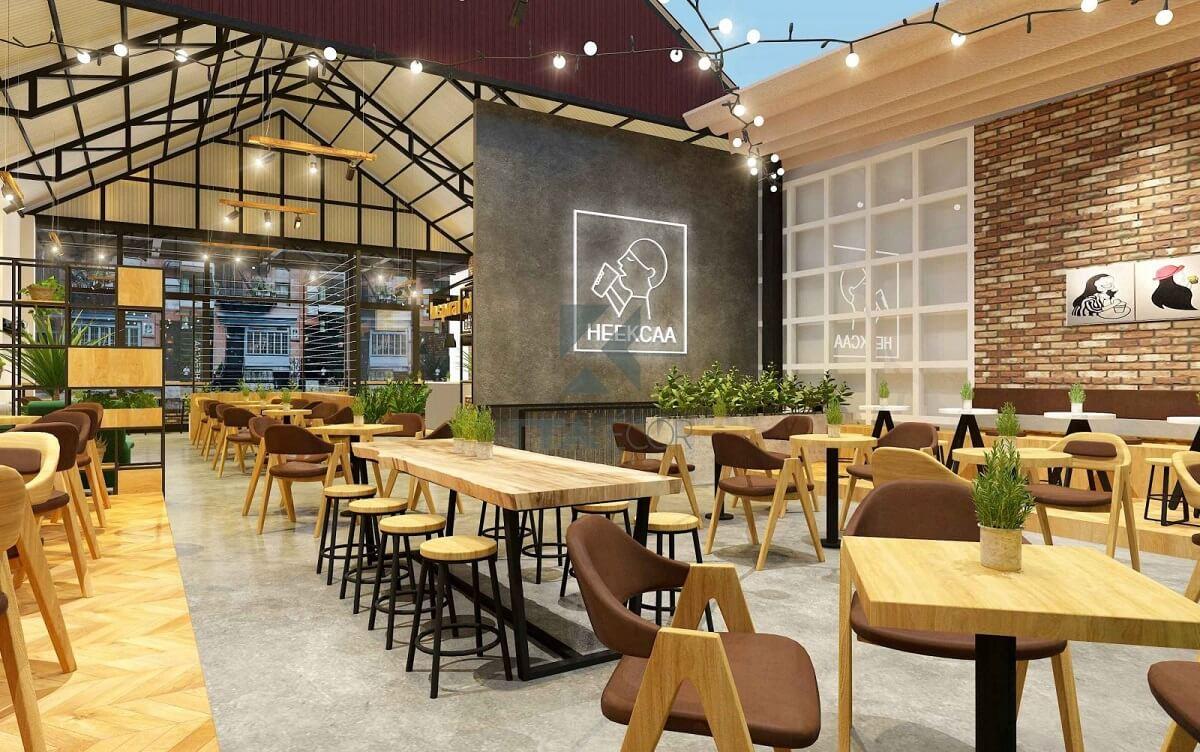 Phong Cách Quán Cafe Acoustic Lãng Mạn Nhẹ Nhàng