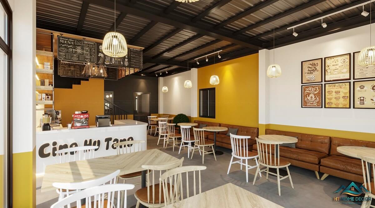 Phong Cách Quán Cafe Trẻ Trung Năng Động