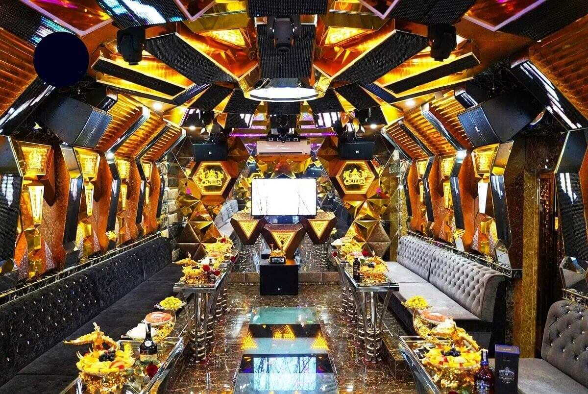 Phòng Karaoke Có Quầy Bar Mini