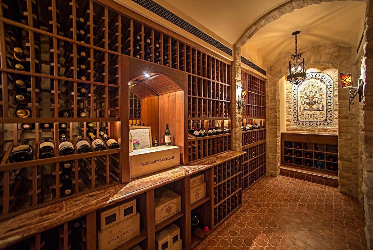 Thiết Kế Hầm Rượu Biệt Thự 2 Tầng Đẳng Cấp