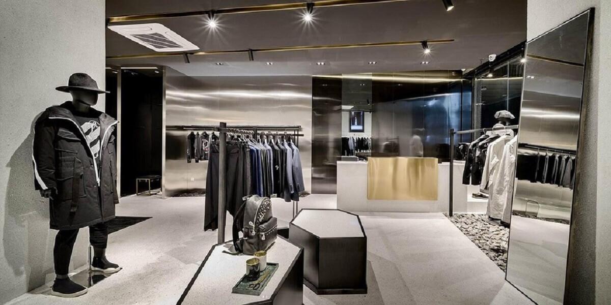 Shop Quần Áo Nam Phong Cách Hiện Đại, Sang Trọng