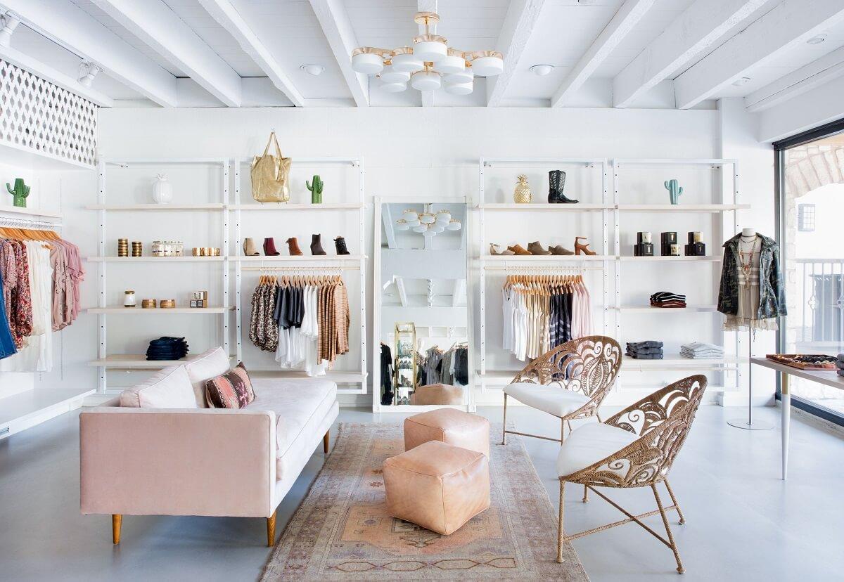 Thiết Kế Shop Thời Trang Theo Phong Cách Scandinavian