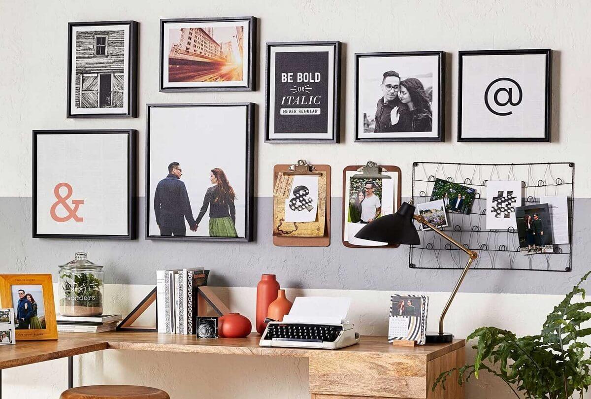 Trang Trí Phòng Làm Việc Đẹp Bằng Cách Treo Tranh Ảnh Nghệ Thuật Trong Phòng