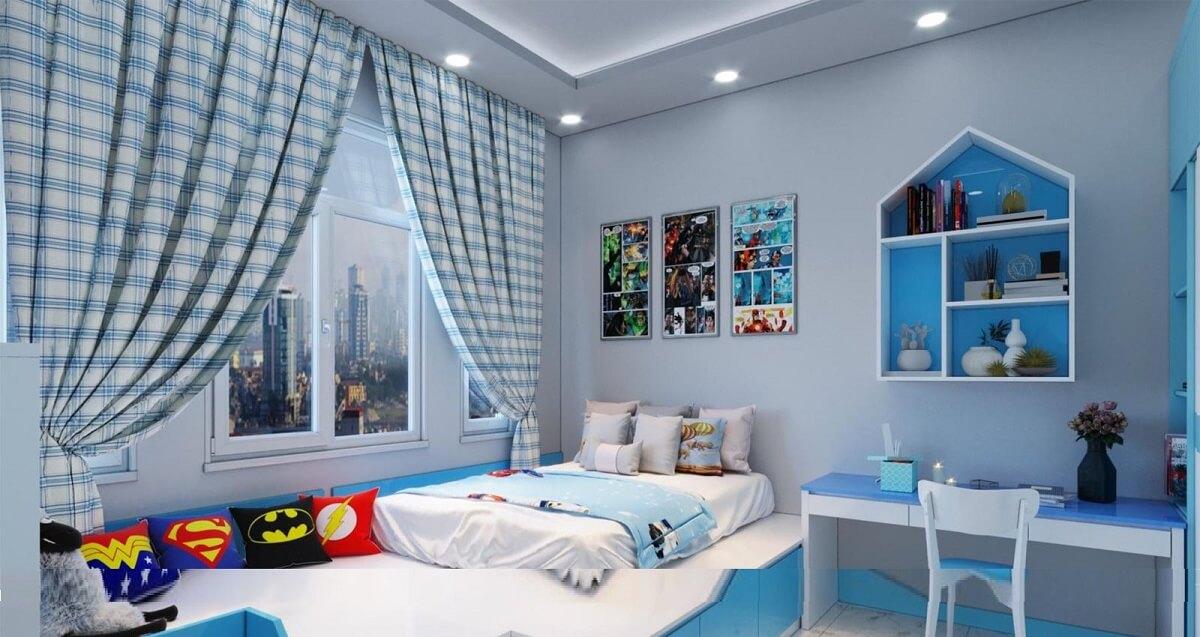 Trang Trí Phòng Ngủ Cho Bé Gái Theo Chủ Đề Biển Cả
