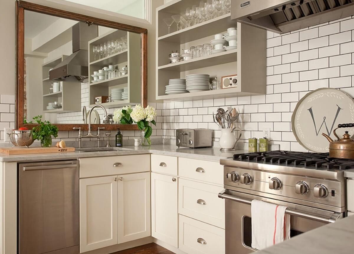 Tủ Bếp Phù Hợp Với Không Gian Đậm Nét Vintage