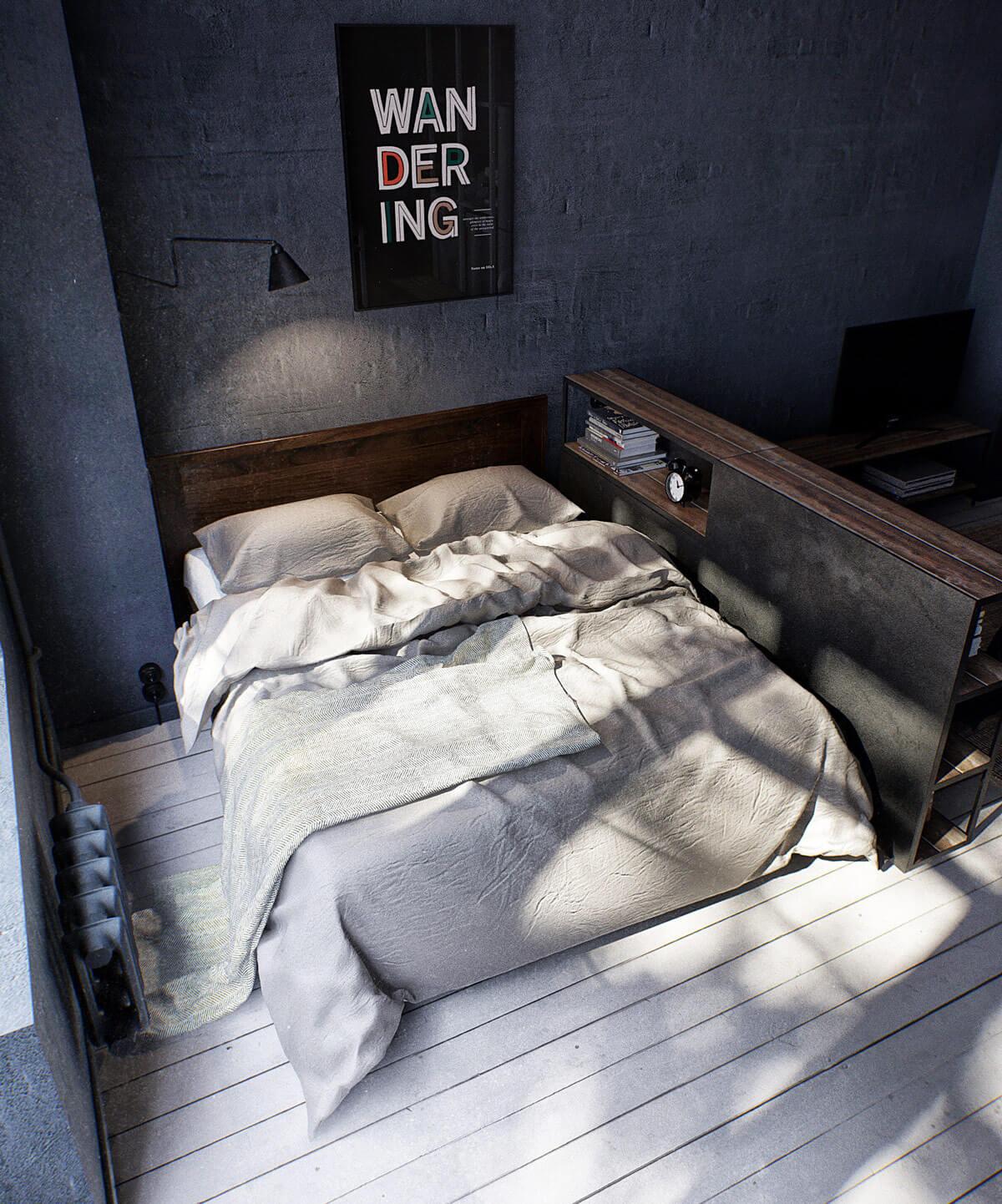 Bố Trí Phòng Ngủ 8m2