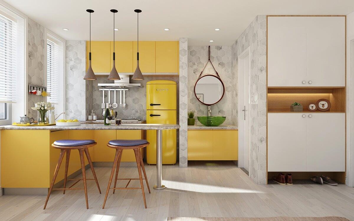 Lựa Chọn Kích Cỡ Tủ Lạnh Phù Hợp Với Phòng Bếp
