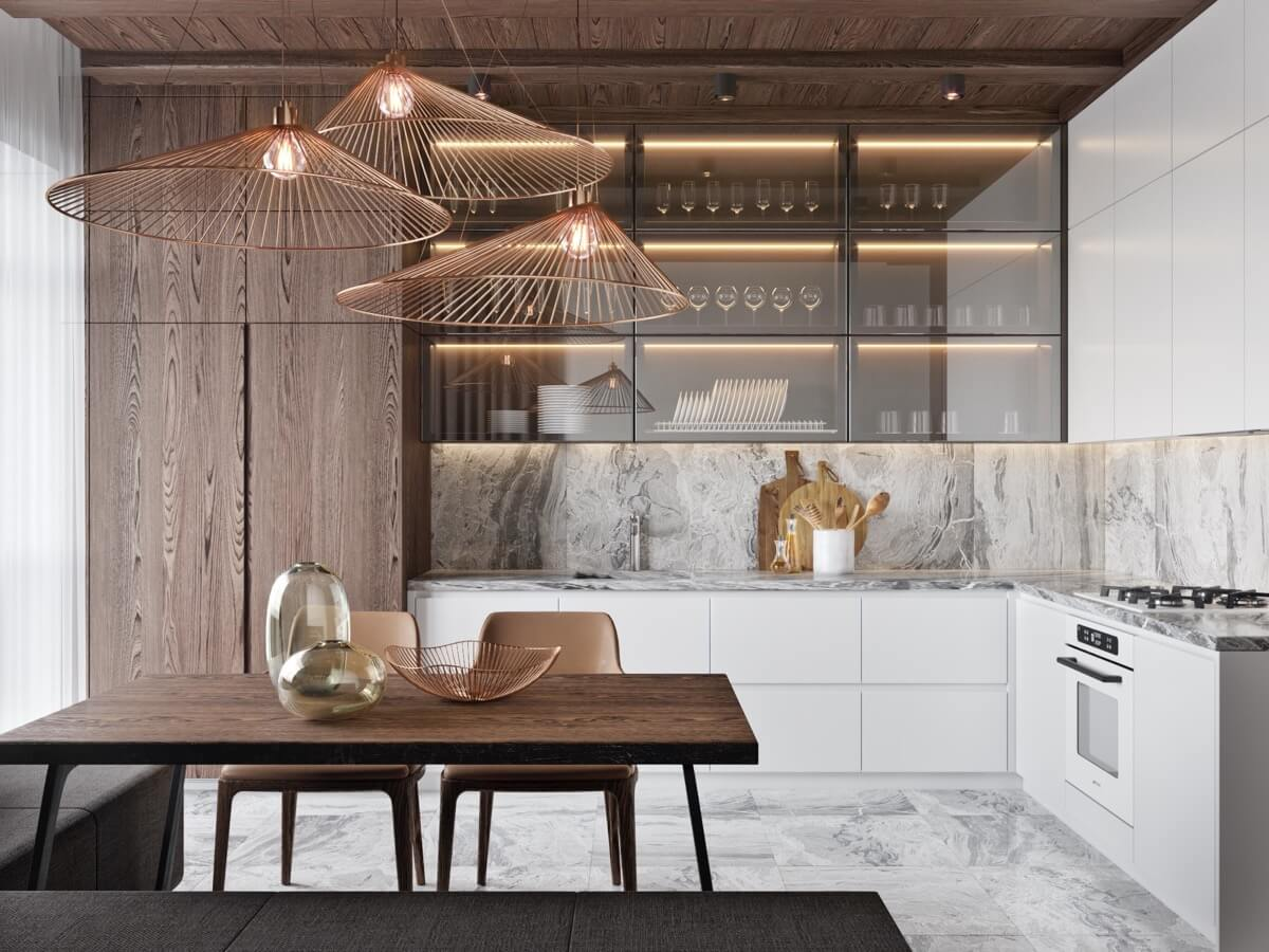 Mẫu Phòng Bếp Đẹp Hiện Đại
