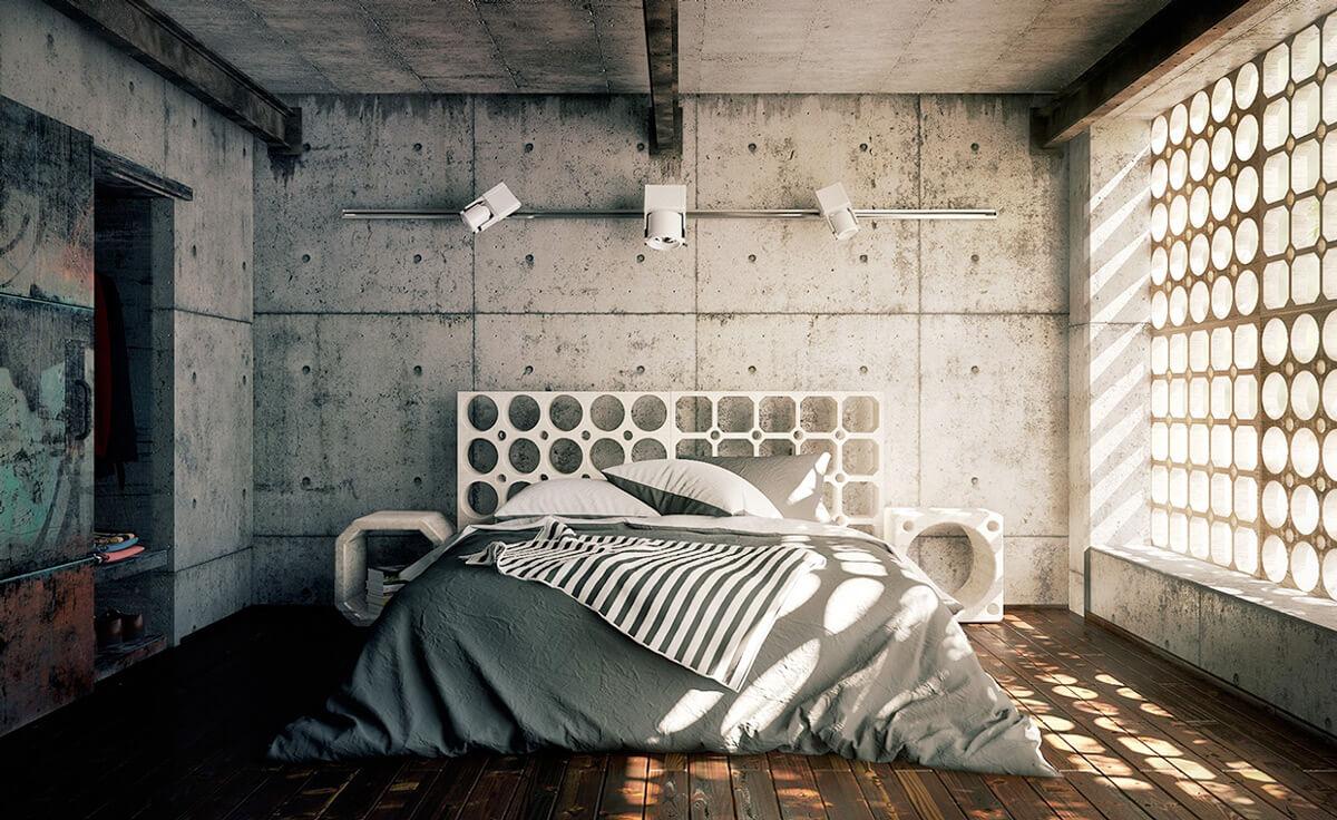 Mẫu Phòng Ngủ Khác Biệt Cá Tính