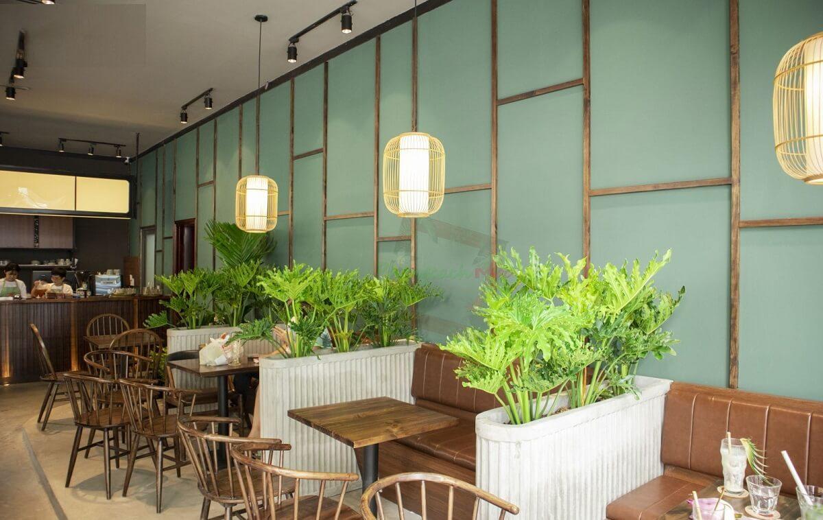 Phong Cách Quán Cafe Garden