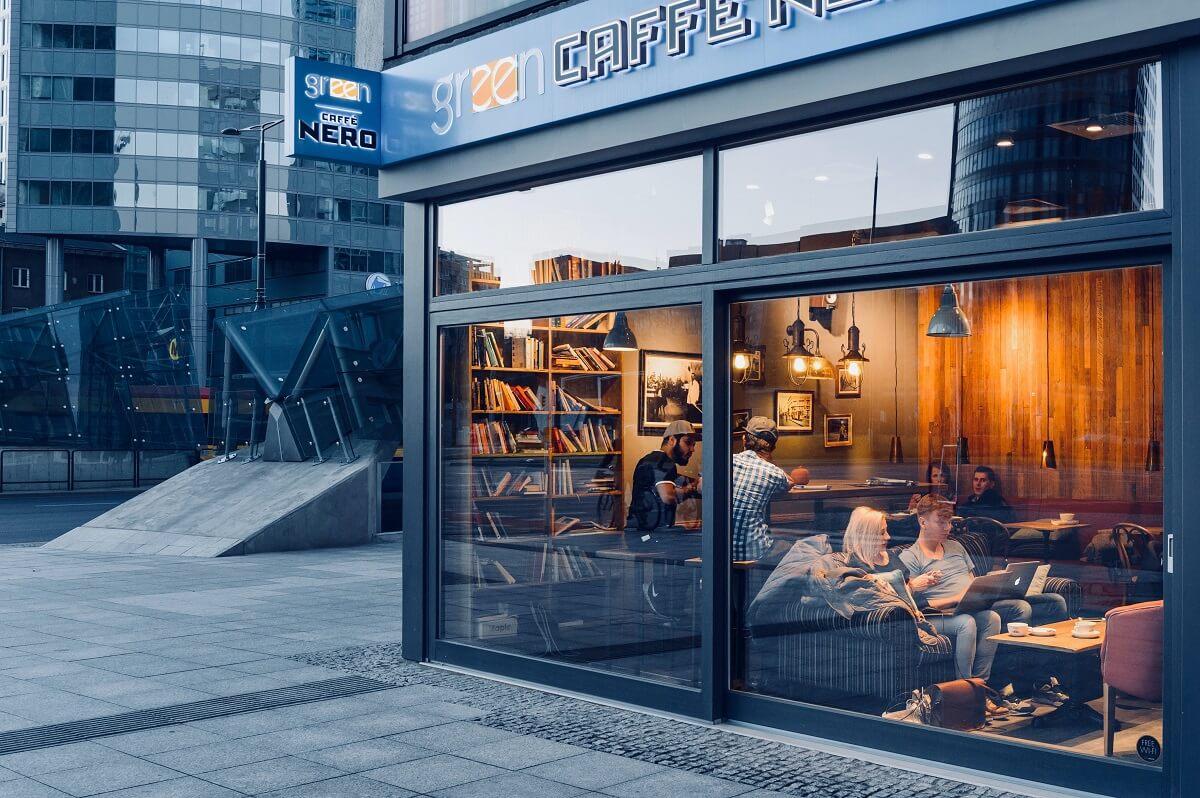 Thiết Kế Cafe Với Phong Cách Ấn Tượng
