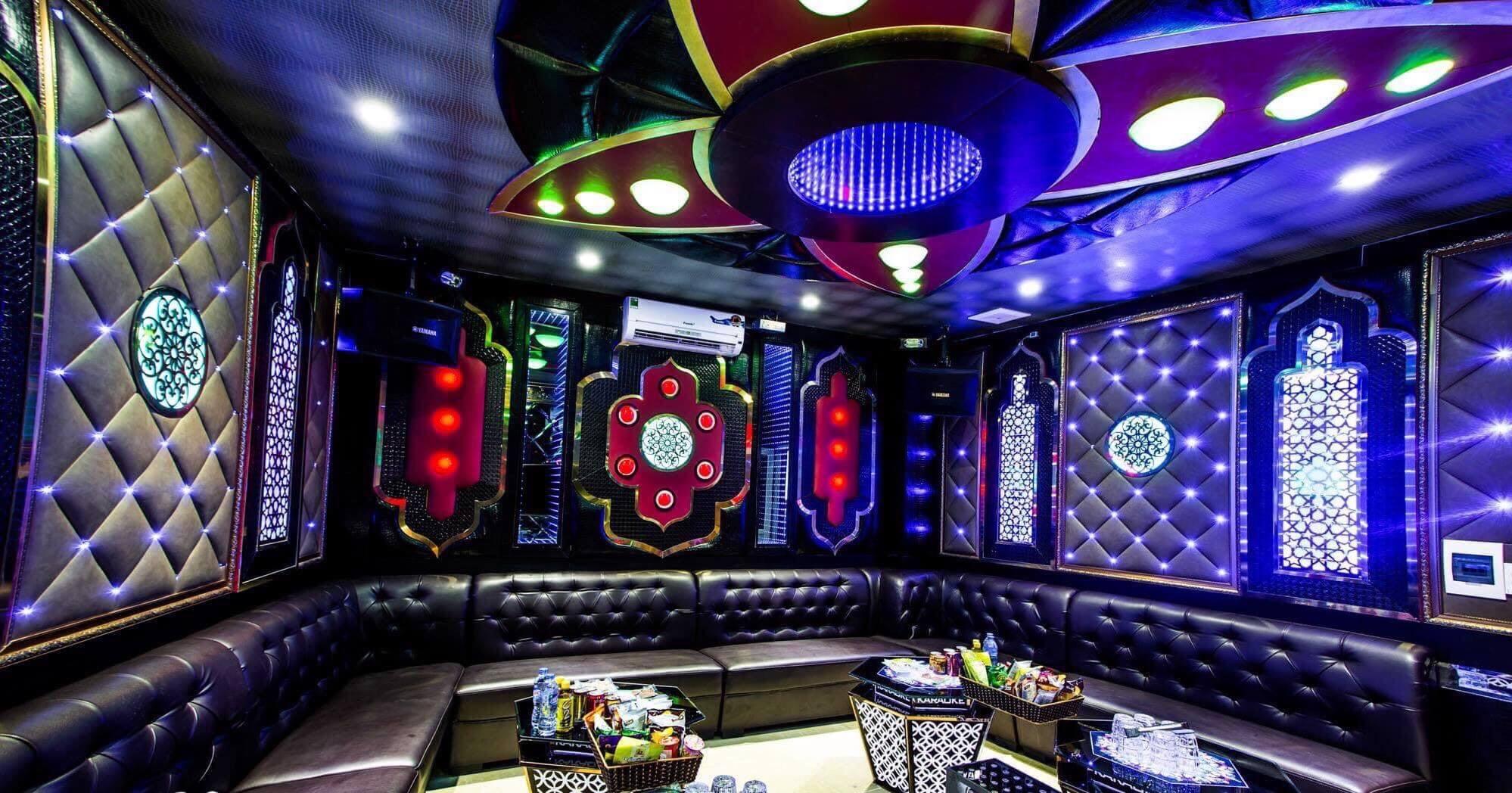 Thiết Kế Đèn Trang Trí Cho Nội Thất Karaoke