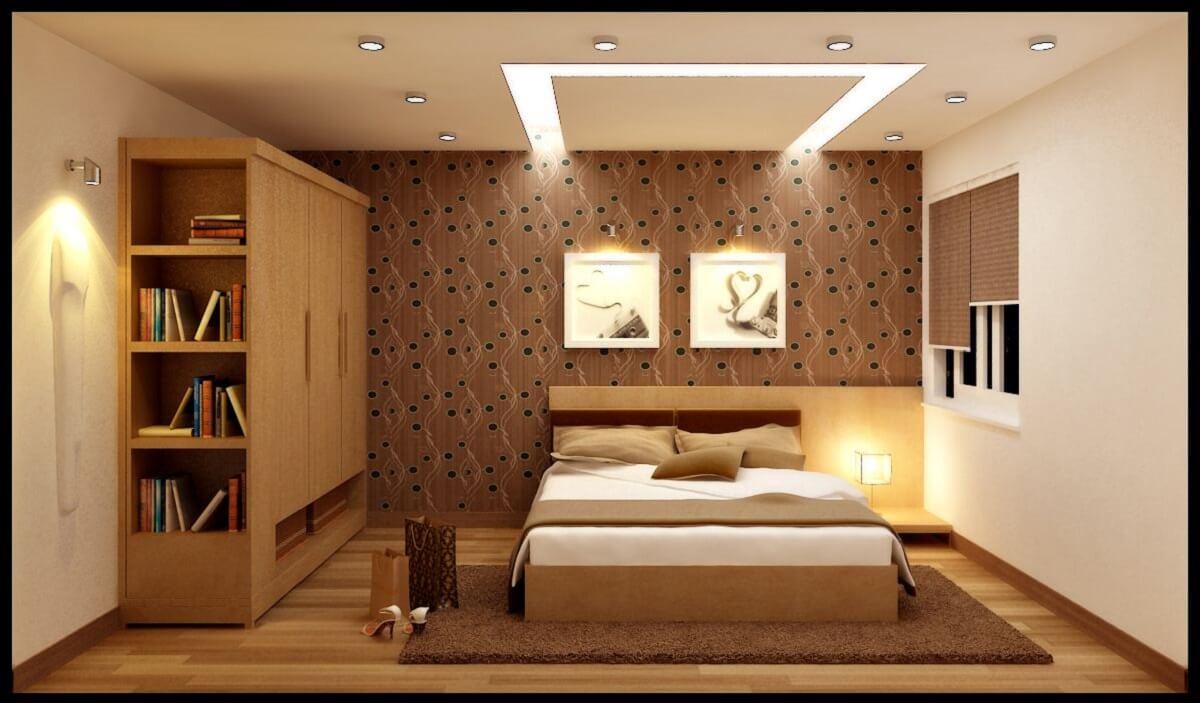Trang Trí Ánh Sáng Phòng Ngủ Bằng Màu Sắc