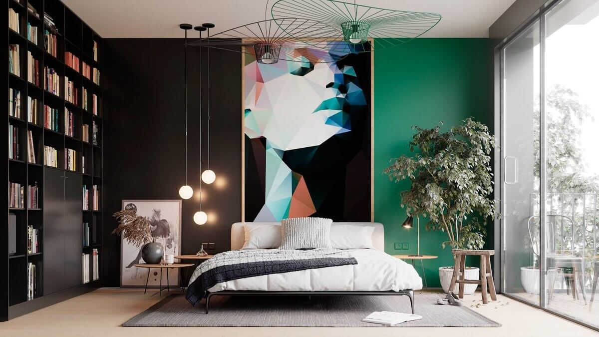 Trang Trí Decor Phòng Ngủ Đẳng Cấp Với Vách Ốp Đầu Giường
