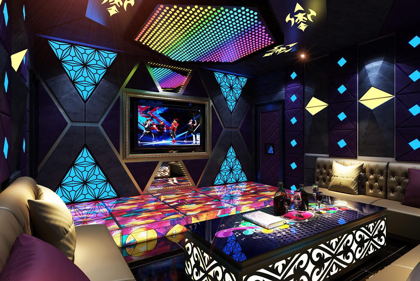 Trang Trí Phòng Karaoke Đẹp