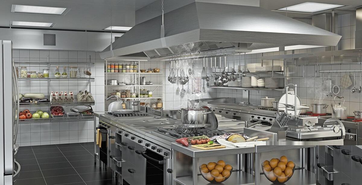 Thiết Kế Phòng Bếp Nhà hàng