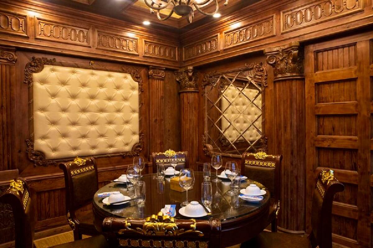 Vật Liệu Phòng VIP Nhà Hàng