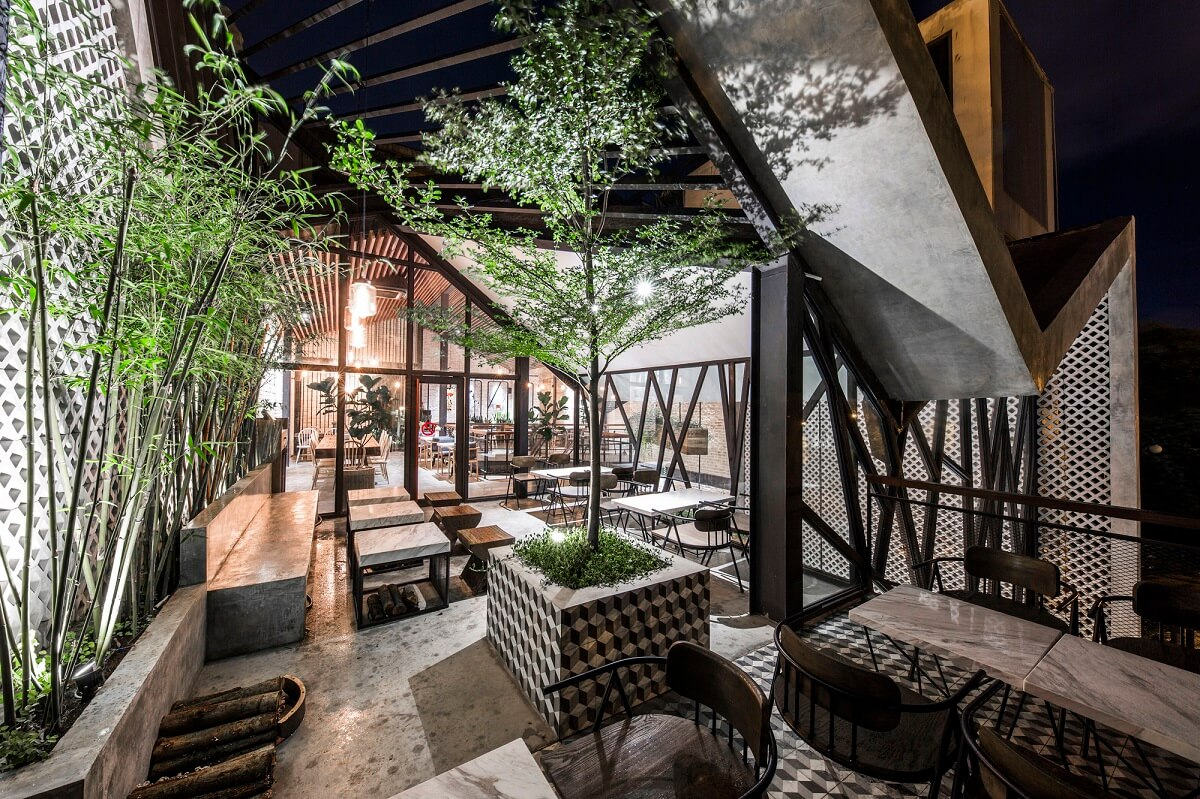Thiết Kế Quán Cafe Theo Phong Cách Tối Giản
